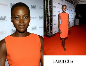 Lupita-Nyong'o-red-dress-